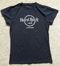 Ladies Black Hard Rock Cafe Cleveland Size Large Sexy & Cute