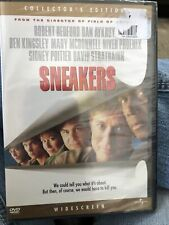 Sneakers (DVD, 1992, Collector's Edition Widescreen) Brand New! Robert Redford