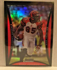 2008 BOWMAN CHROME REFRACTOR CHAD JOHNSON BENGALS     WM7