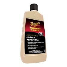 Meguiar's M-2616 Mirror Glaze Hi-Tech Yellow Wax High Gloss Protection 16 oz