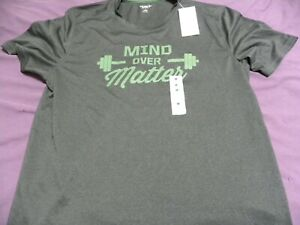 Old Navy Active Mind Over Matter Mens T Shirt Breathable Go Dry Eco Friendly NWT