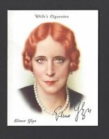 WILLS - FAMOUS BRITISH AUTHORS - #12 ELINOR GLYN
