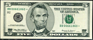1999 $5 Federal Reserve **STAR** Note New York BB00661860* PCGS 67PPQ