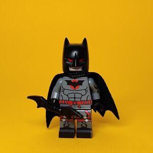 LEGO Custom PAD Printed DC Universe Movie Style Robert Pattinson Batman Minifig