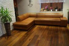Echtleder Ecksofa 300 x 200 Sofa Couch mit Bett Echt Leder Rindsleder Eck Couch