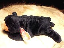 Ty Beanie Babies BLACKIE the bear Stuffed Animal Toy multiple errors ORIGINAL