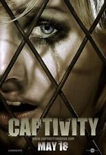 CAPTIVITY ORIGINAL 27x40 MOVIE POSTER (2007) CUTHBERT & GILLIES