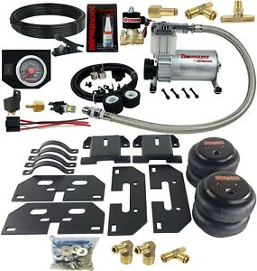No Drill Tow Assist Kit On Board Air Management 2003-13 Dodge Ram 2500 3500 1/2""