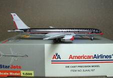 1:500 Starjets American B757-200 N679AN Chrome SJAAL167 Diecast metal plane