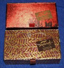 2 Vtg Faberge Flambeau & Woodhue 1/2oz. Cologne & Soap Gift Sets