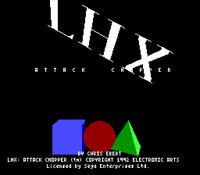 Lhx Attack Chopper - Sega Genesis Game Only