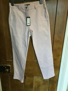 Laura Ashley Cropped Trousers - Pale Pink - Size 10 (BNWT)