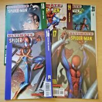 Ultimate Spider-Man issues 16 - 20 (Marvel 2000, 5 comic lot/run) 17 18 19