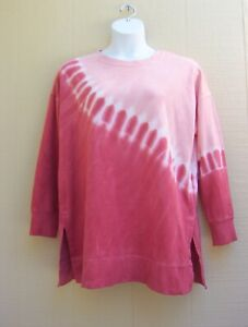 OLD NAVY OVERSIZED VINTAGE SPECIALLY DYED TUNIC SWEATSHIRT SZ L ~NWT