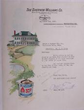 1927 Lamson Goodnow Sherwin Williams Co Tulso OK Paint Sept 2 Ephemera L940B