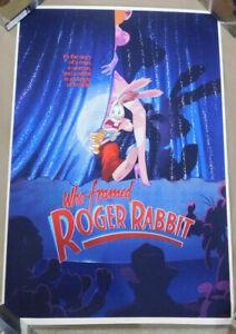 2021 Vincent Roucher Who Framed Roger Rabbit Poster Mondo Disney 133/280