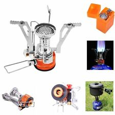Portable Collapsible Outdoor Camp Stove Butane Propane Burner for Gas Canisters