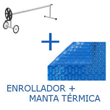 PACK Cubierta térmica de 700 micras + Enrollador telescópico