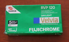 Fujifilm Velvia 50 120 Roll Film 5 Films outdated 7-2007 Kept Refrigerated
