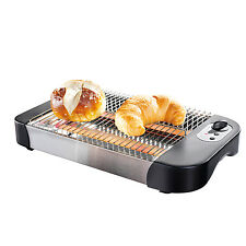 GOURMETmaxx Brötchenröster Toaster Flachtoaster Brötchen aufwärmen warmhalten
