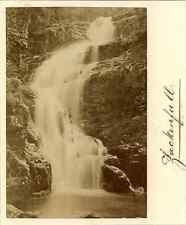Pologne, Jackenfall, Bilder aus Schlesien Vintage albumen print.  Tirage album