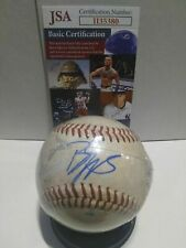 Ben Diggins Signed Game Used Arizona Fall League Baseball Ball Milwaukee Brewers