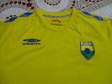 Brasil Brazil National Futebol Football Team Umbro Brand Soccer Jersey- Med / Lg