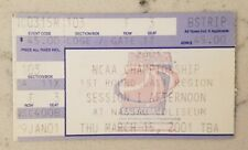 NCAA Basketball Tournament Ticket Stub 3/15 2001 East Kentucky Iowa Creighton