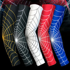 Spider Web Cycling Arm Warmers Sleevelet Cover Outdoor Sun Protection Arm Sleeve