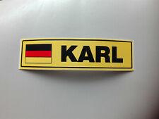 """Aufkleber Sticker * 3 Vornamen mit """"K"""" * Trucker Tuning * Abziehbild Schild"""