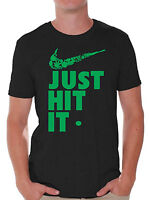 Just Hit It T-SHIRT Weed Blunt Kush 420 Swag Marijuana Fresh Swoosh Shirt
