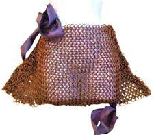 CLoTH AdK Crusader Custom Copper Chainmail Skirt, Heavy Satin Ribbon ~Costume OS