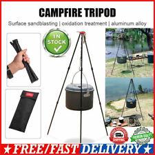 SUNDICK Outdoor Camping Ausrüstung hängen Kochtopf Lagerfeuer Picknick Stativ