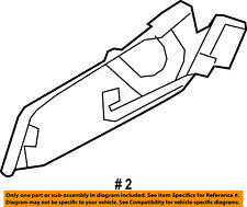 Jeep CHRYSLER OEM 10-16 Compass Seat Track-Lower Shield Right 1RW62XDVAB