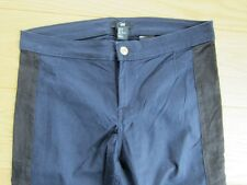 H&M super Stretch Hose blau schwarz Gr. 36/38 TOP