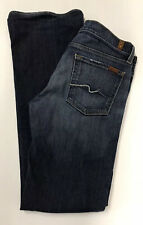 7 Seven For All Mankind Women's Jeans Bootcut Size 27 RN# 115561 Medium Wash