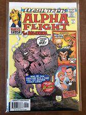 Flashback Alpha Flight 1 High Grade Comic Book A7-226