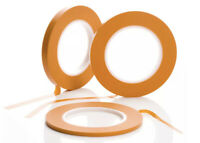Two Fine Line Masking Tapes High Temperature Precision Car Modelling  9mm x 55m