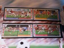 GUERNSEY 1996 SG 696-703 EUROPEAN FOOTBALL  MNH