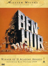 DRAMA-BEN HUR (1959) DVD (WS-16:9/ENG-SP-FR-PORT SUB/O-SLEEVE)      NLA  DVD NEW