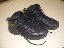 "Size 5.0Y Youth Nike Air Jordan 10 Retro ""NYC"" 310806 012 Black/Gold"