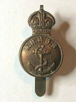 Royal Naval Motor Boat Reserve Cap Badge