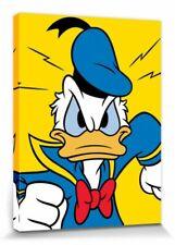 Donald Duck - Wütend Walt Disney Poster Leinwand-Druck Bild (80x60cm) #73973