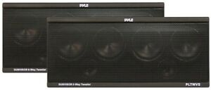 Pyle PLTWVS Speaker Visor Mountable 200Watts Max. (pair)