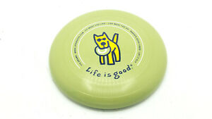 Life Is Good Man's Best Friend Dog Ultimate Flying Disc Green Discraft 175G USA