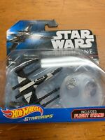 Star Wars Rogue One Hot Wheels Starships Partisan X-Wing Fighter Mint On Card