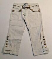 Dolce & Gabbana Womens Pants Trousers Size 38 (US Small) White