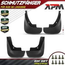 4x Schmutzfänger vorne + hinten für Audi A6 4F C6 + Avant Allroad BJ 2004 - 2011