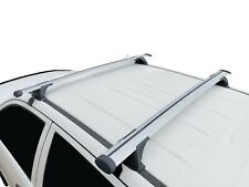 Alloy Roof Rack Cross Bar for Toyota Hilux Dual Cab 2006-15 135cm Lockable