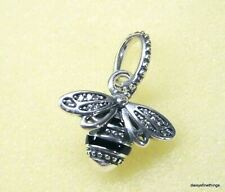 NEW/TAGS AUTHENTIC PANDORA PENDANT/CHARM  SPARKLING QUEEN BEE #398840C01